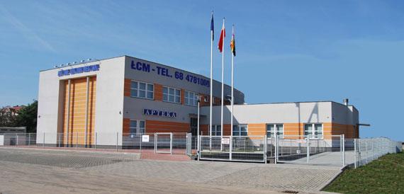 Front budynku ŁCM